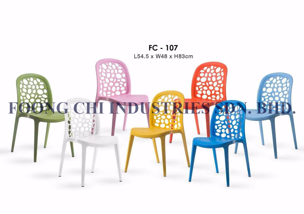 Plastic Modern Fancy Cafe, Restaurant, Dinning Chair from Malaysia