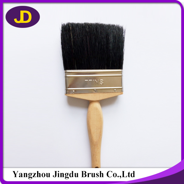 Plastic Handle Paint Brush of Pure Bristle