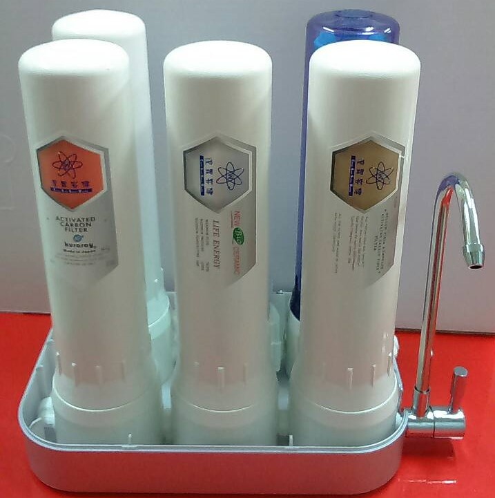 Hydrogen Ions Water Purifier 5 Stage