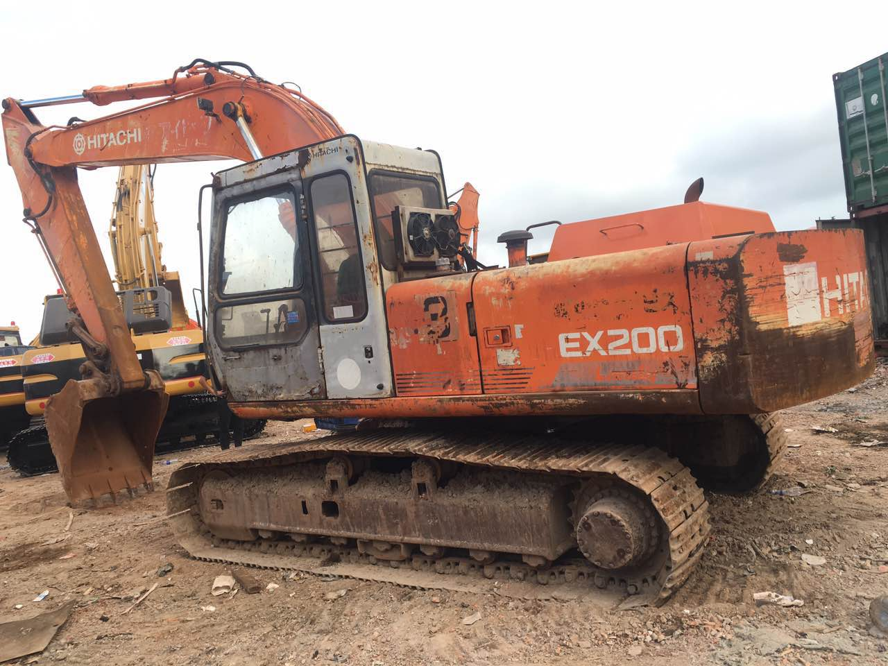 Original used Hitachi excavator used Hitachi excavator for sale