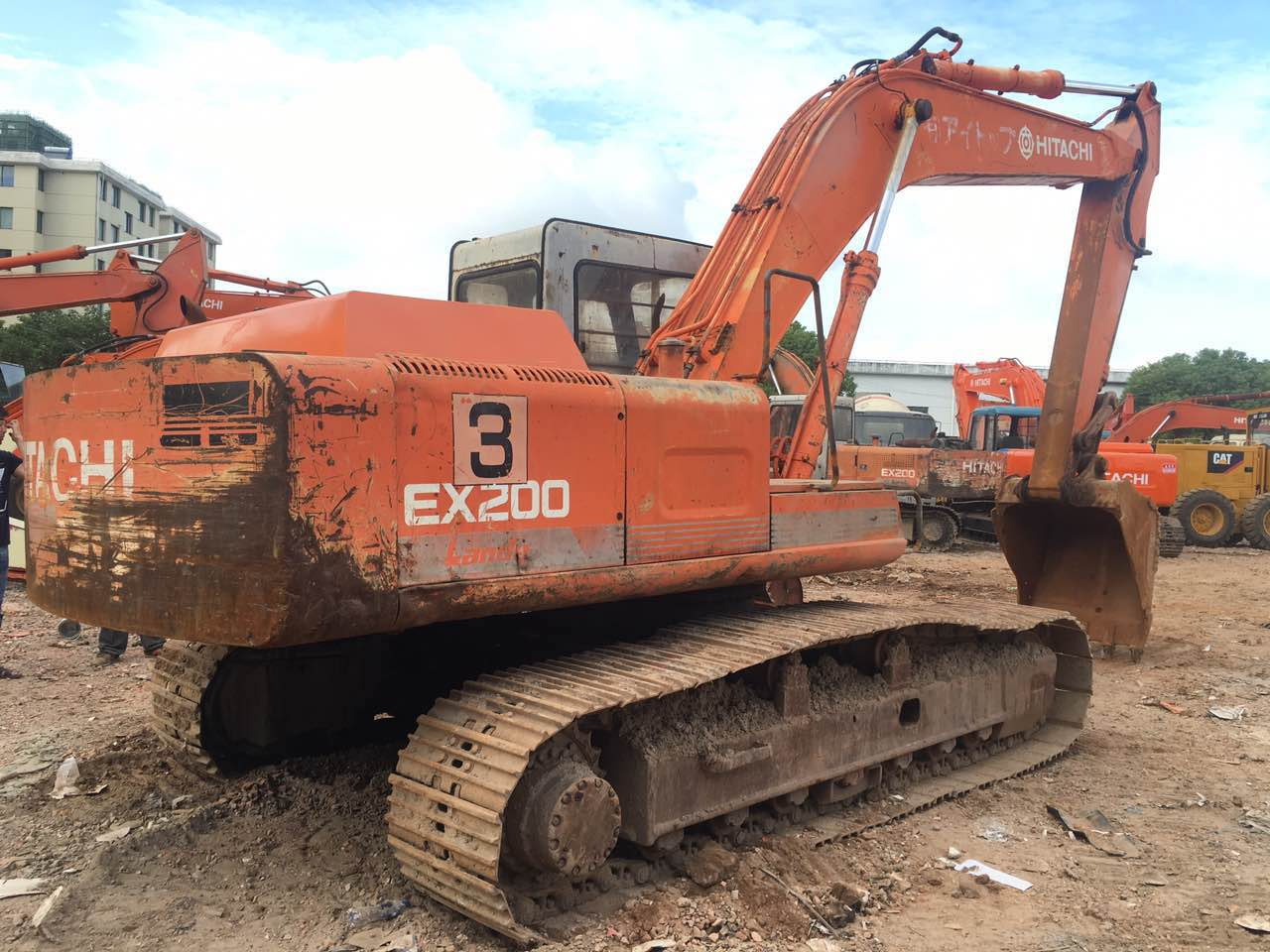 Original used Hitachi excavator, used Hitachi excavator for sale