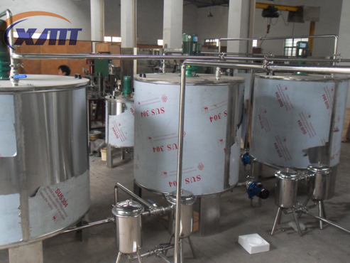 stainless steel mixing tanksyrup melting potbeverage mixermixing machine