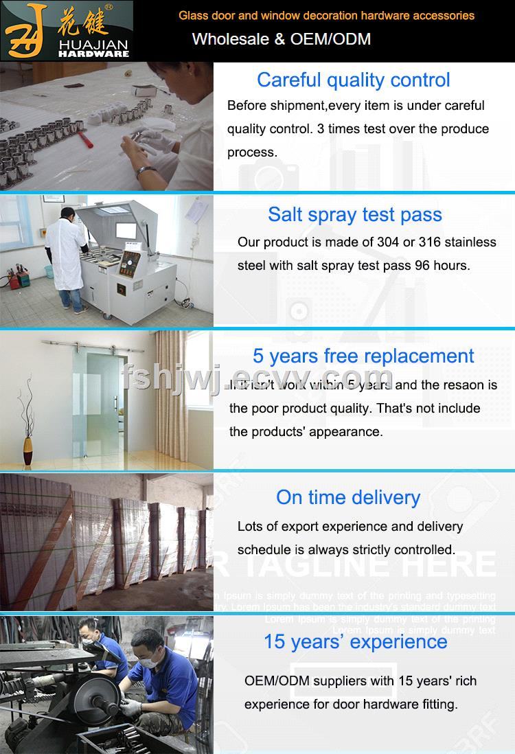 300kg loading exterior sliding barn door rail track system