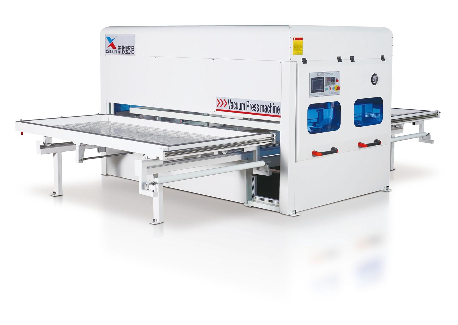 Automatic Vacuum Press Machine For Pvc Heat Transfer