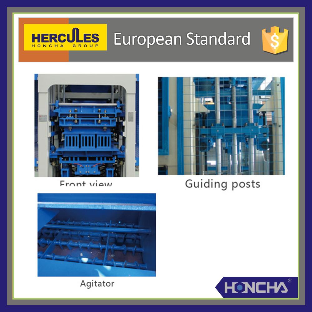 Honcha Qt Paving Block Machine Interlocking Brick Block