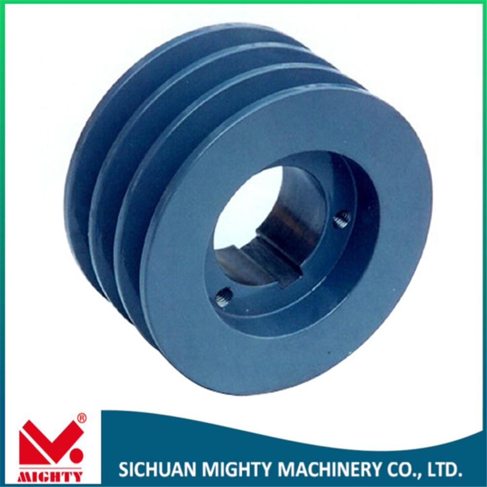 high quality u groove pulley,customized cast iron elevator v-belt u ...