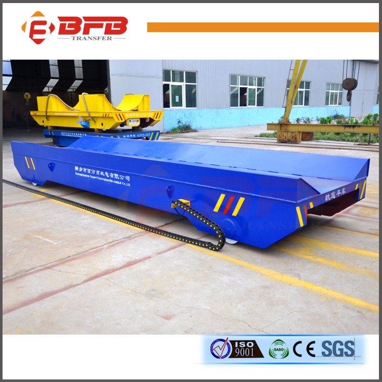 Short distance Transport AC Motor Low Price Motorized Rail Cart