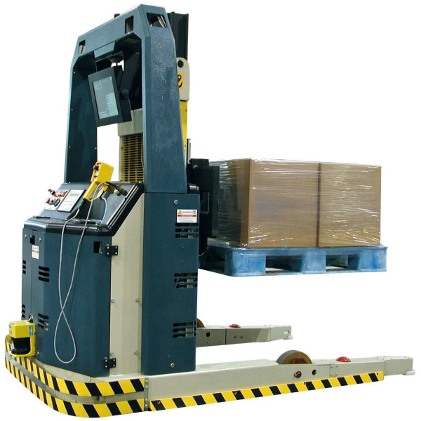 China Fully Automatic Magnetic Lifter Industrial Forklift AGV for material handling