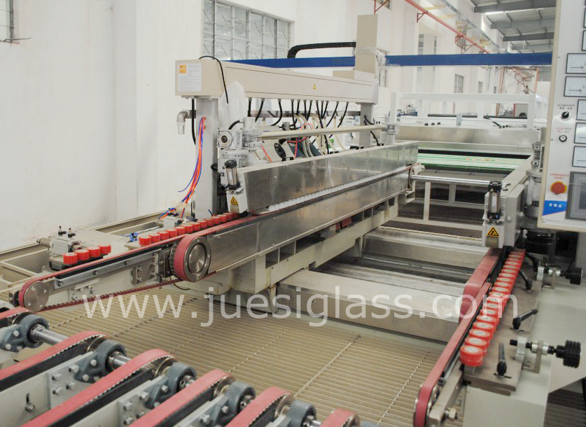Glass Straight Double Edging Machine