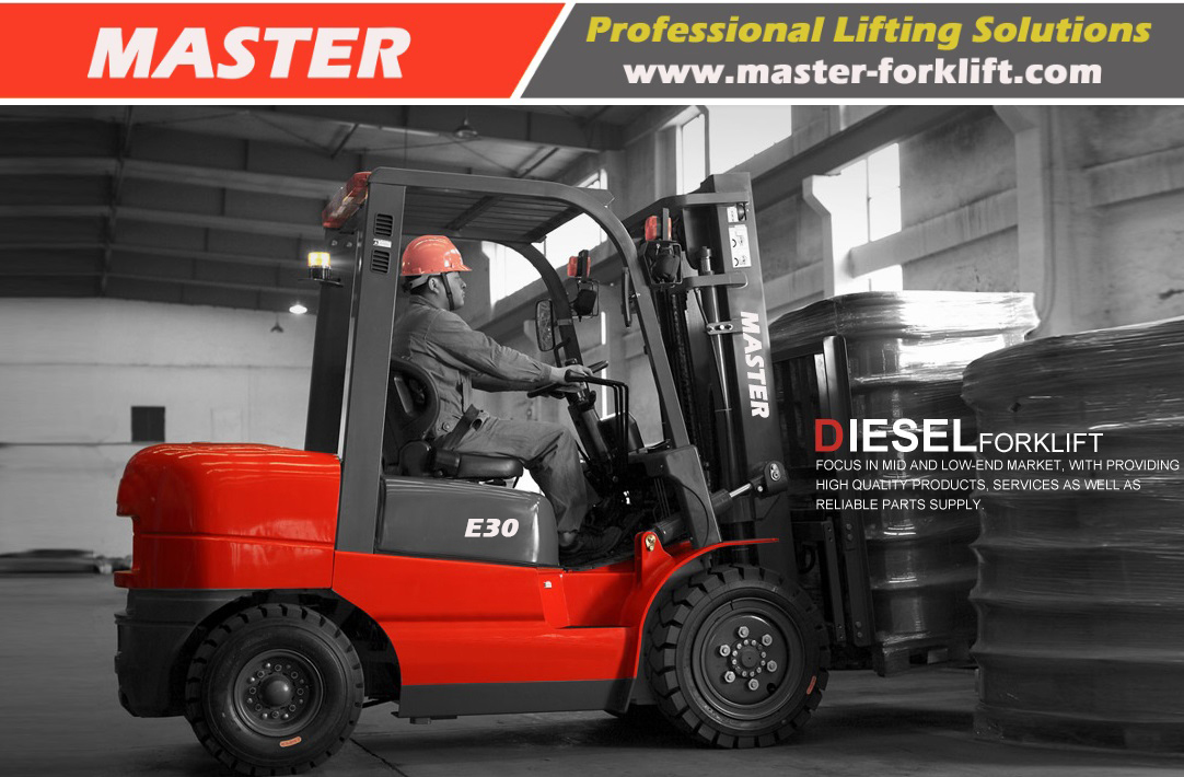 HELI 3.0ton Diesel Forklift With Japanese Engine From