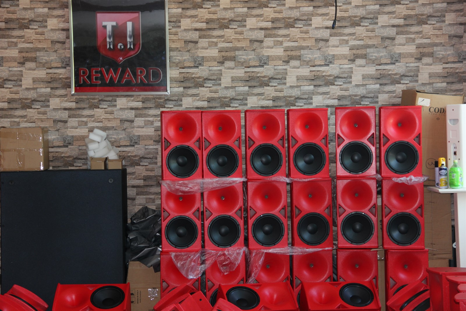 Passive System 10'' Line Array Hot Sale Outdoor Indoor Speaker Line