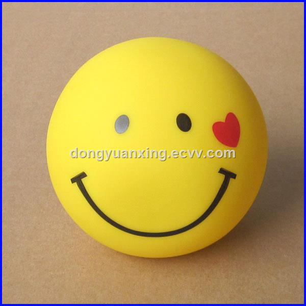 Shenzhen cartoon smiling face vinyl piggy boxes money bank toys for saving coines or promotion