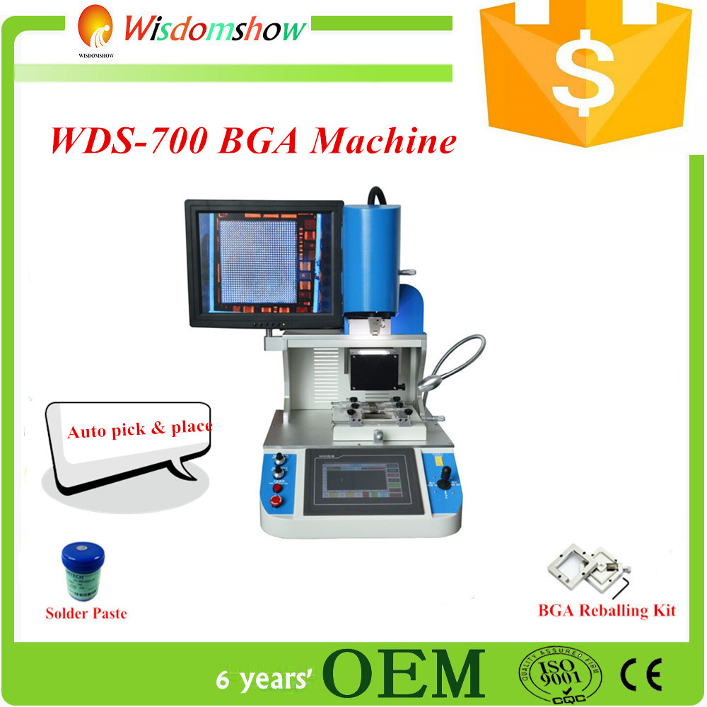 2016 New Version Optical Auto Bga Repair Machine Wds 700 Mobile Tools Soldering Tool Kit 12 Different Circuit Board Repairing