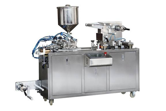 Hot sale and Cheapest Chocolate/Honey/Butter ALU/PVC Blister Packing Machine
