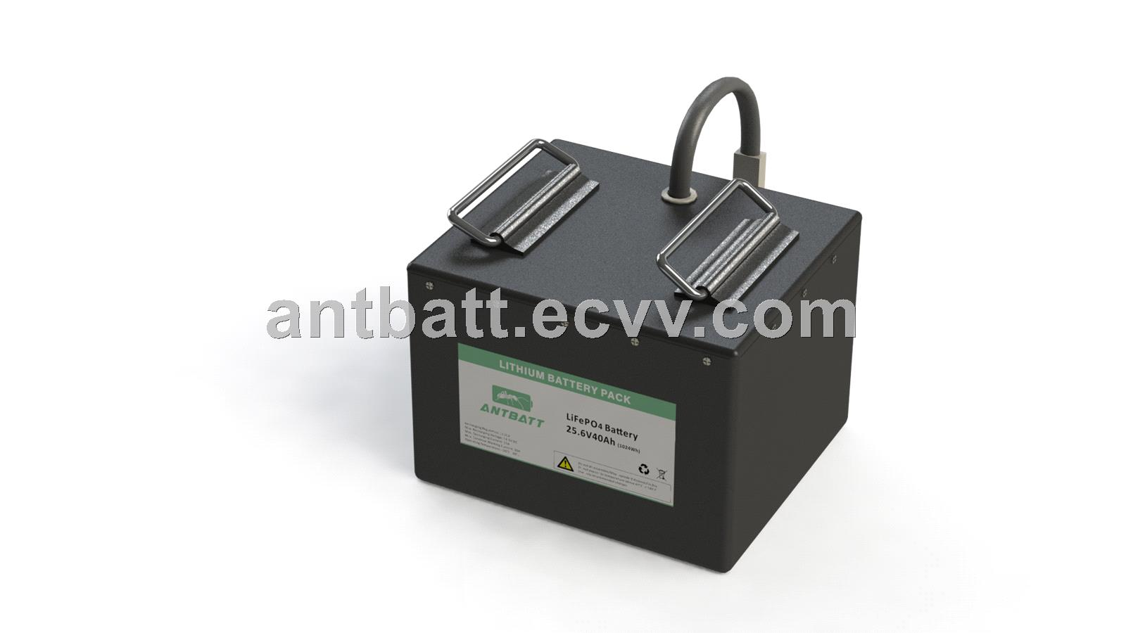 LiFePO4 24V 40Ah for Floor Cleaning Machine Battery