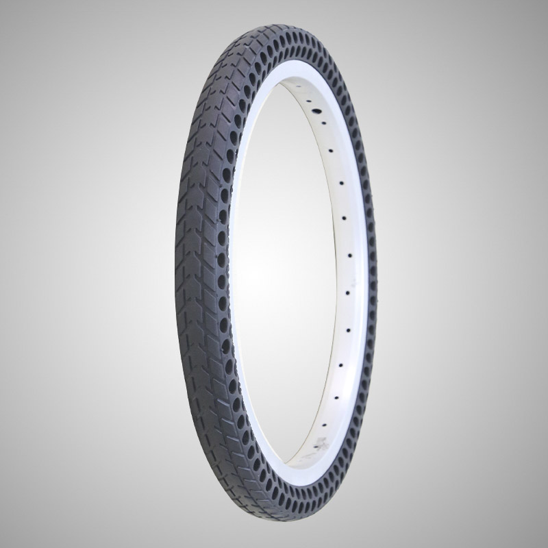 16*1-3/8 Inch No Air Solid No Tube Bike Tire