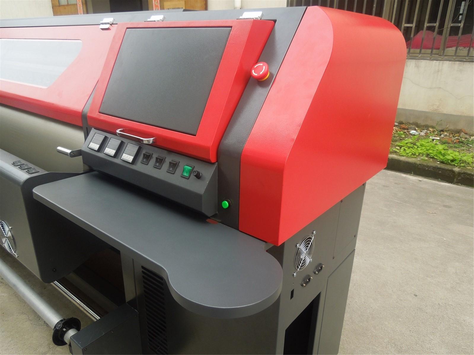 3 2m Solvent Printer Flex Banner Printing Machine with Konica Minolta KM512  Printhead 42PL