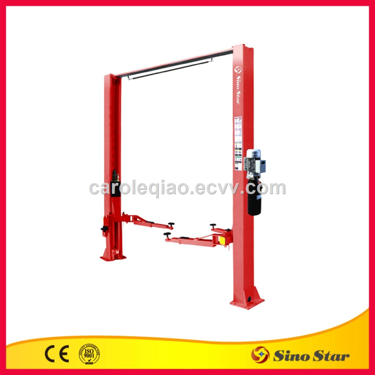 base plate two post lift manual lock release ss cla 40 purchasing rh ecvv com Electrical Wiring Diagrams for Cars Residential Garage Car Lifts