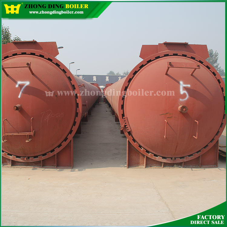 Made in China Industrial Horizontal Steam Sterilizer Autoclave curing Prices