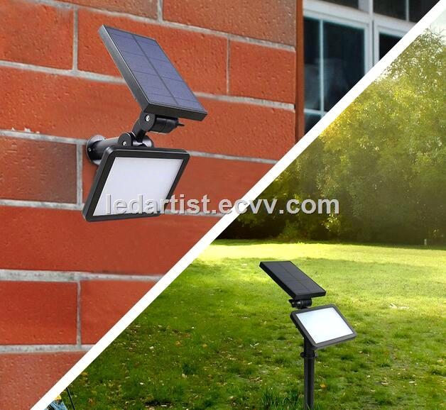 Solar sensor led wall lamp 15W solar greensward led lamp