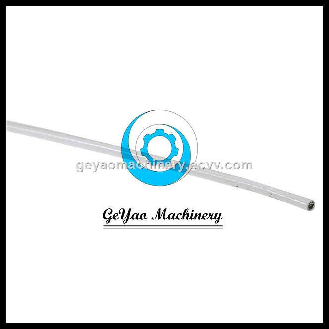 White Vinyl Coated Wire Rope 7x19