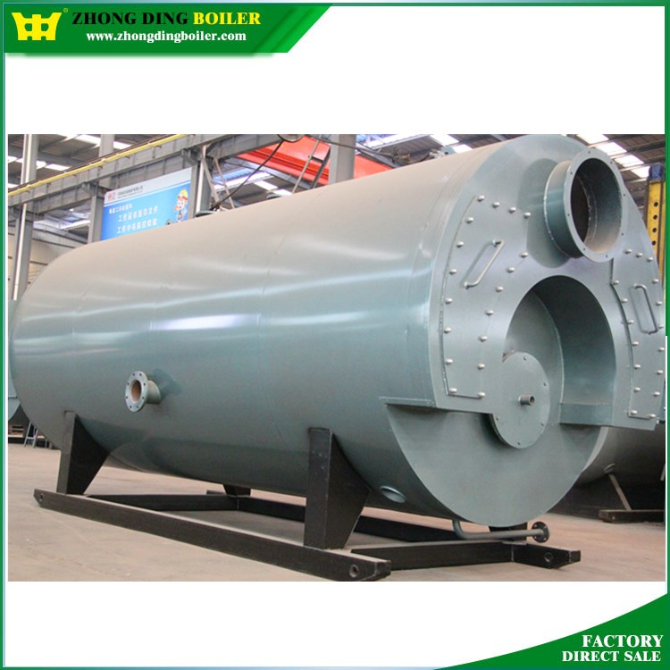 Cwns Oil Gas Fired 5mw Hot Water Boiler Price For Automotive Industries