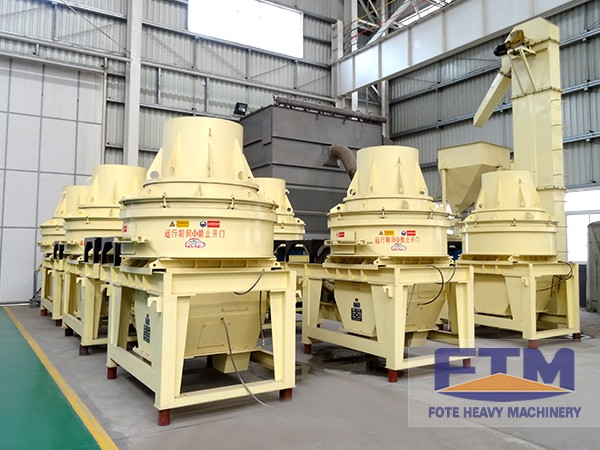 ISOCE High Quality Hot Granite Sand Maker With CE Certificate From China
