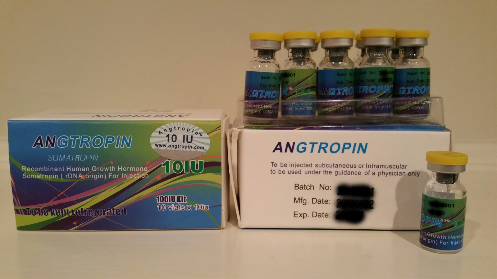 Angtropin 10iu Genuine Human Growth Hormone Supplements Weight Loss