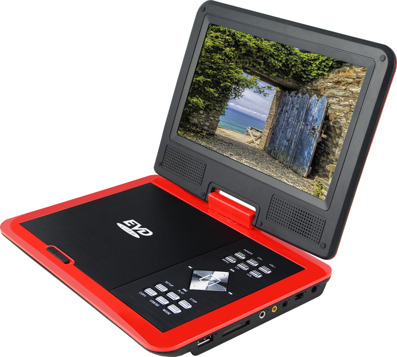 High Definition Portable DVD With Analog TV