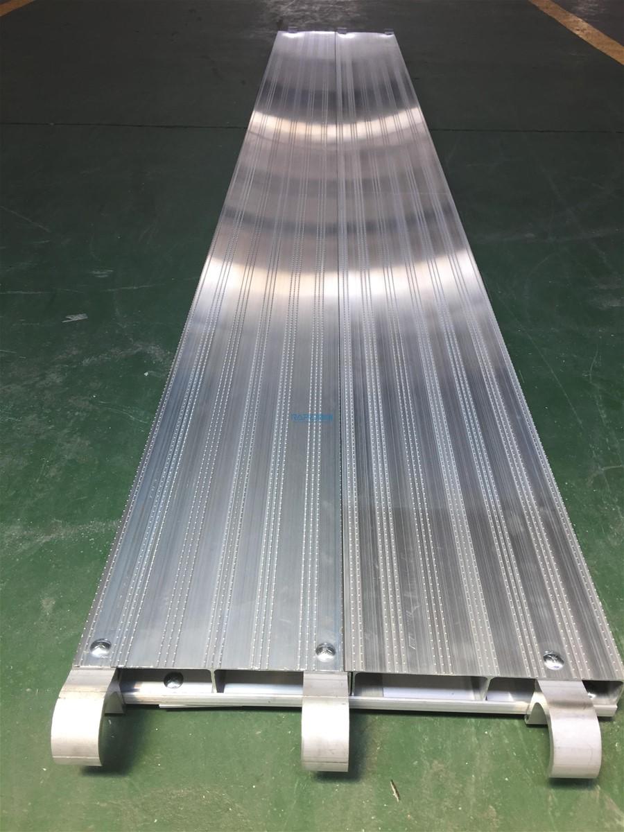 Aluminum Scaffold Product : All aluminum plank for scaffolding walk board