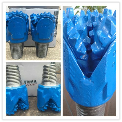 12 14 Inch steel tooth tricone drill bit rock bit mill teeth tricone roller bit