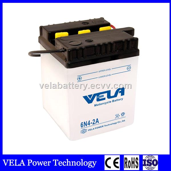 Best Price China Brand 6n4 2a Conventional Dry Charged Lead