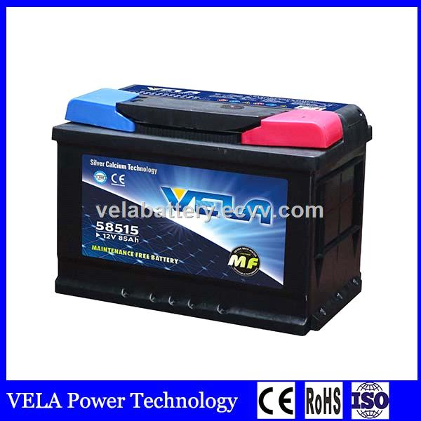 Top Selling Best Price Din85 Mf Lead Acid Car Battery For