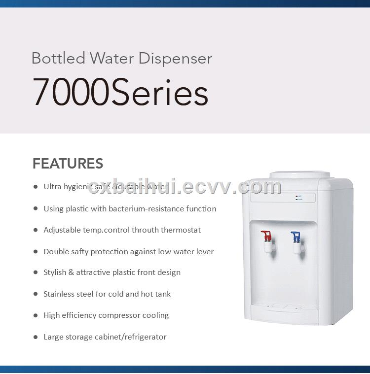 08T hot cool desktop water dispenser