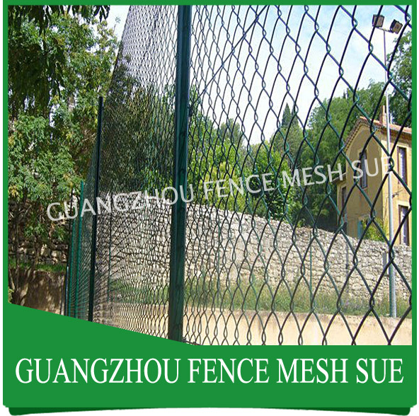 Galvanized wire fencing chain link fence for zoo wholesaler