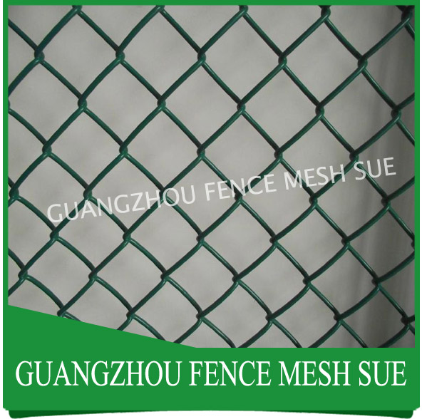 5050mm diamond wire netting school Stadium chain link fence