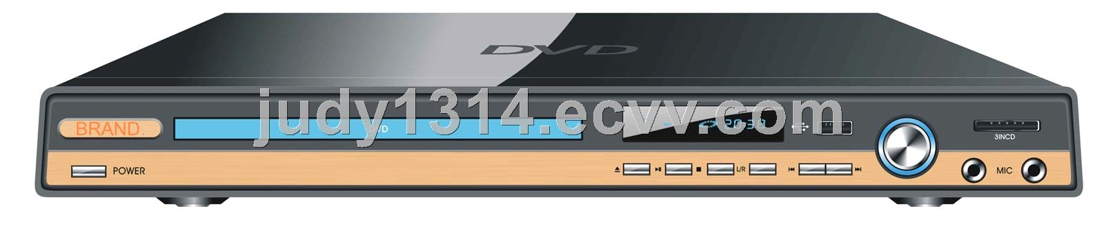 Big Desktop DVD Player with USB FM