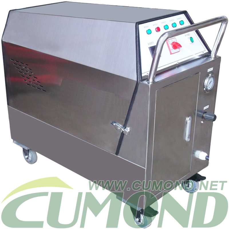 Mobile steamhotcold water high pressure cleaning machineelectric drivenCWEWS32