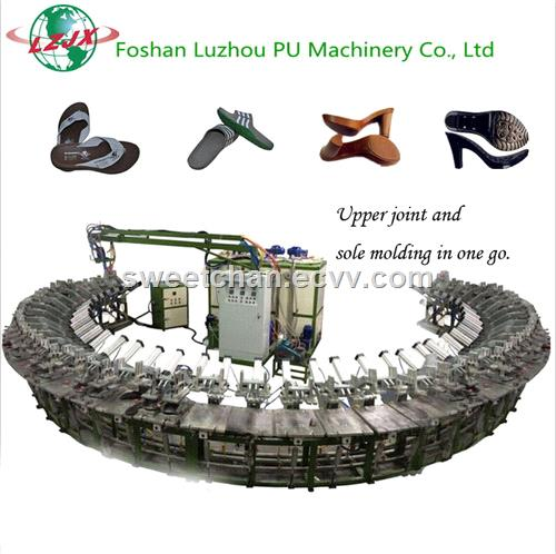 PU Shoe Sole Producing Machine Footwear Sole Molding Machinery