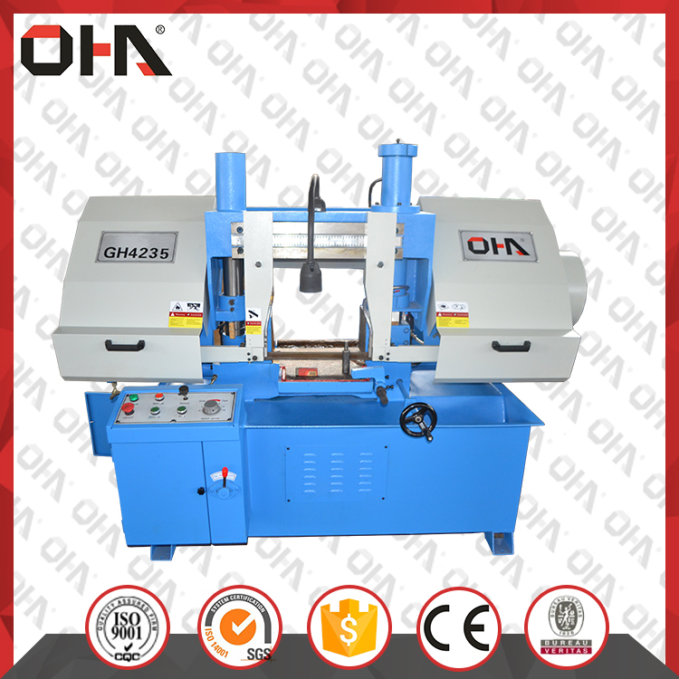 OHA GH4235 Double column horizontial band saw machine price for sale