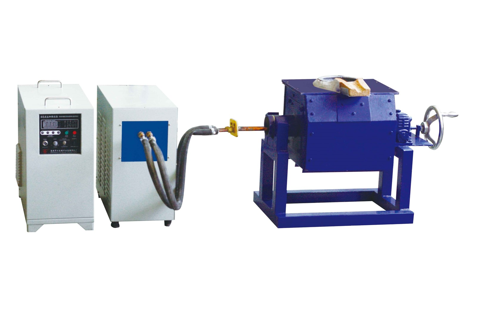 Crucible melting furnace induction melting furnace