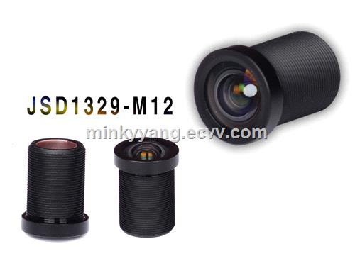 43mm m12 board low distortion lens for face recognition