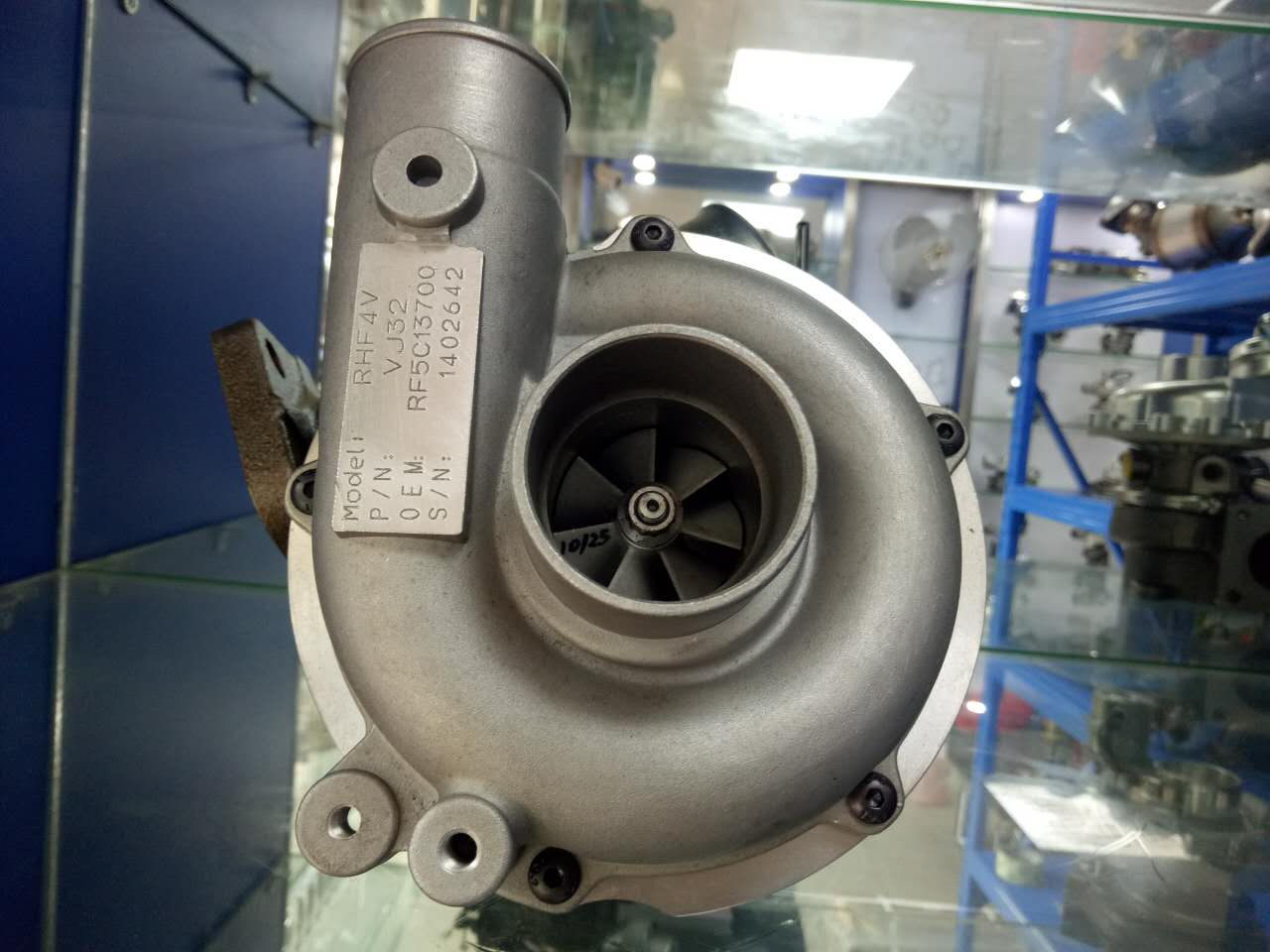 The Turbocharger For Mazda car (RHF4V)