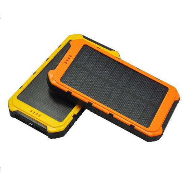 Waterproof 8000mAh solar panel power bank for Land Rover