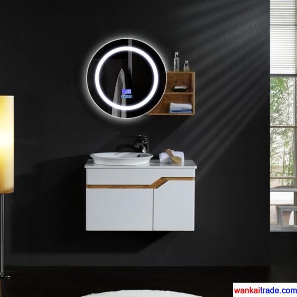 New Style Oak Bathroom Vanity With Double Doors Bluetooth