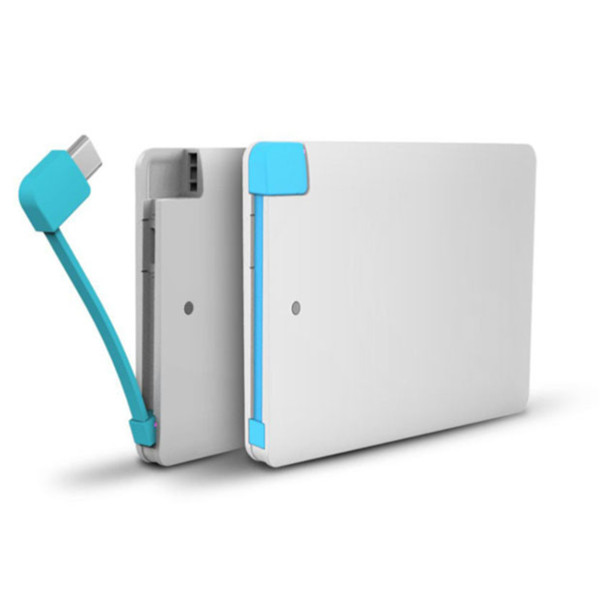 Portable credit card power bank 2200mAh 4000mAh