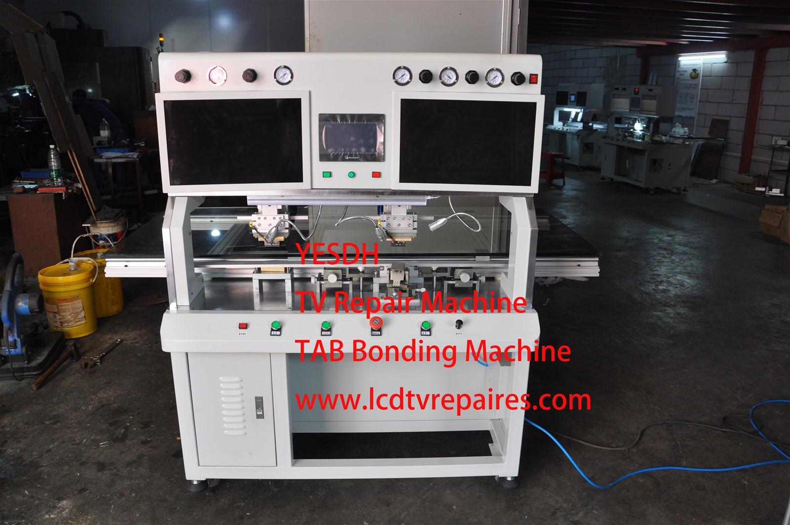 1ac4889863fbf5 LCD Television Screen Repair ACF Bonding Machine 208-D Technical Parameters  power: AC220V±10%, 50Hz, 1200W LCD size: 15