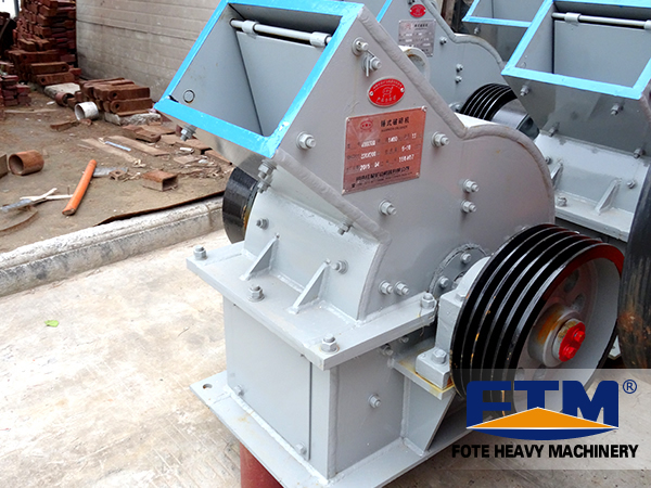 Hammer Crusher Type and New Condition Glass bottle or stone materials crushed machine