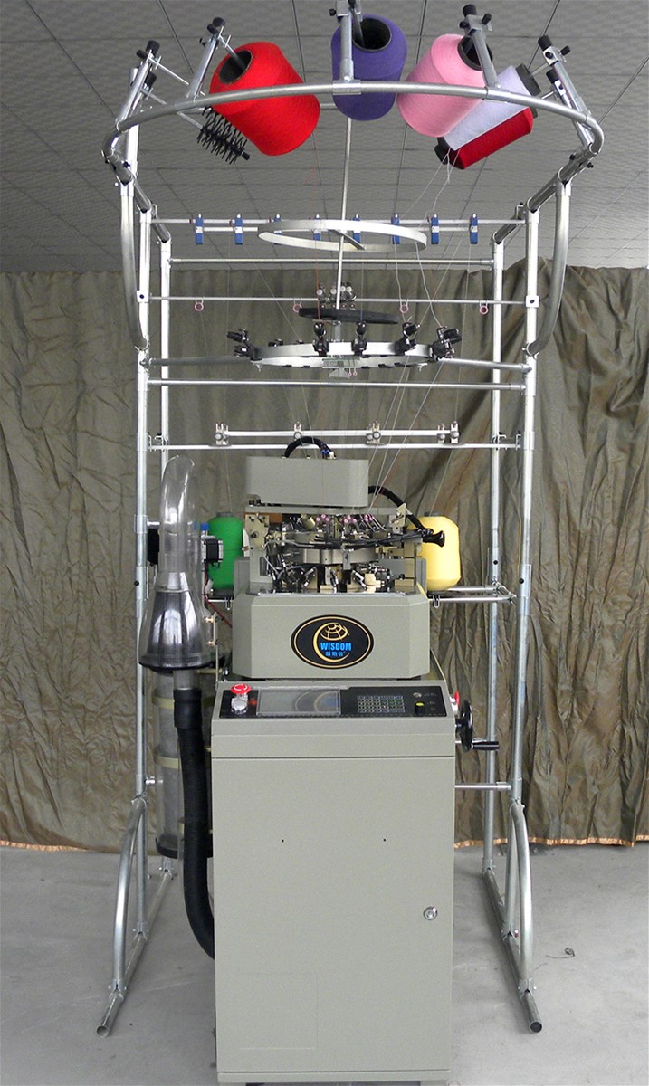 computerized sock knitting machine