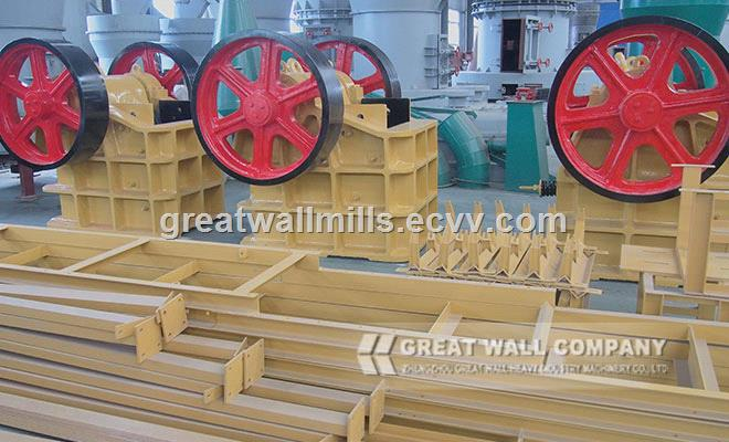 Jaw Crusher Price for 120 T/H Quarry Crushing Plant